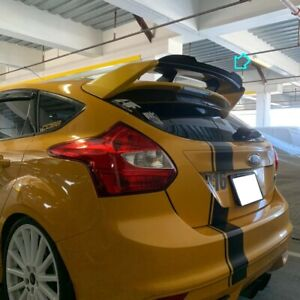 Painted H648 Add on Rs Rear Trunk Spoiler For 11 18 Ford Focus Mk3 Hatchback