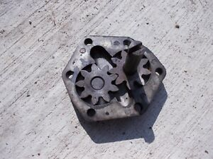 Allis Chalmers G Tractor Ac Engine Motor Oil Pump Assembly