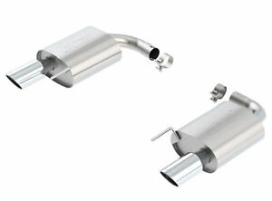 Borla 11887 Rear Exhaust S Type W 4 Tips Fits 2015 2017 Mustang Gt 5 0l V8