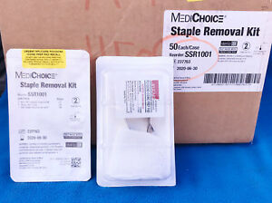 Lot Of 48 Medichoice Staple Removal Kit Small Ssr1001 New