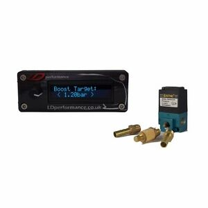 Electronic Boost Controller Ldperformance Oled Gauge And 3 Port Solenoid