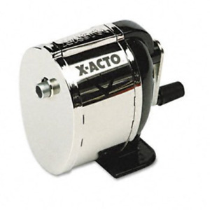 X acto Boston Model L Table Or Wall mount Pencil Sharpener Sharpener pcl ce