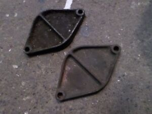 1932 1933 1934 1935 1936 1937 Ford Flathead V8 Water Pump Block Off Plates