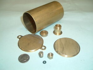 Model Hit And Miss Gas Engine Brass Fuel Tank Kit 1 3 4 Diameter