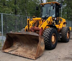 2005 Jcb 426z Wheel Loader Front End Loader Heat And Air Cummins Auto Greasing
