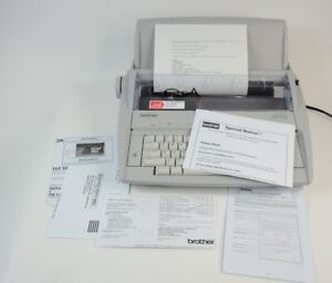 Brother Correctronic Gx 6750 Electric Typewriter Works Great A Condition