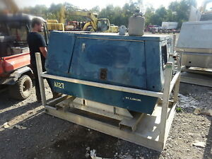 Sullair 185h Diesel Air Compressor 150 Psi Runs Exc Video John Deere 185 Cfm
