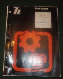 International Dresser 175c Crawler Loader Parts Manual Book Catalog Original Oem