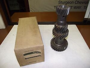 Nos Oem Gm Transmission Cluster Gear Part 3858998 Saginaw 3spd 66 75 Gm