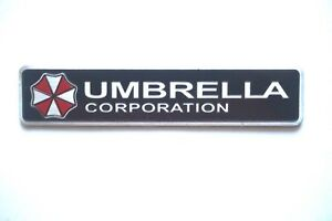 3d Resident Evil Umbrella Corporation Metal Car Badge Emblem Sticker Us Seller