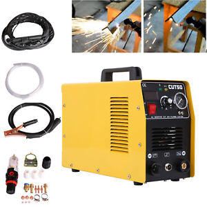 Digital Cutting Machine Inverter Plasma Cutter 20 50amp Cut50 Portable Cutter