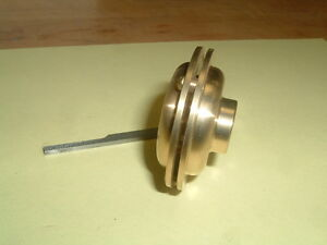 Model Hit And Miss Gas Engine Brass Muffler 1 8 Npt Mounting Thread