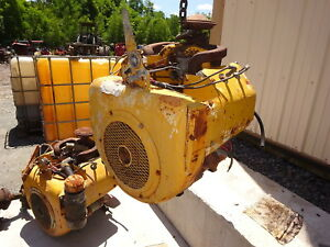 Wisconsin Vh4d Gas Engine 2 Avail Vh4 Nice Long Shaft Stone Saw Grinder