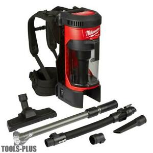 Milwaukee 0885 20 M18 Fuel 3 in 1 Backpack Vacuum tool Only New
