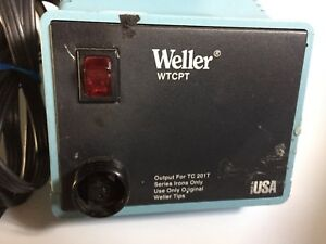 Weller Wtcpt Power Supply Soldering Station Pu120t