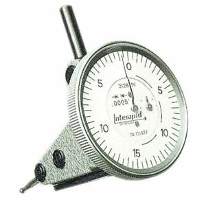 Interapid 312b 20v 060 0 15 0 1 Dial Vertical Dial Test Indicator