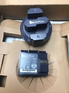Verifone Vx 610 Battery 23326 04 r Plus Charger Stand