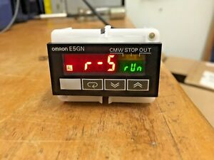 Used Omron E5gn r1tc Multi range Temperature Controller