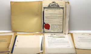 1944 1949 Original Patent Plumley Applications Automotive Auto Battery Post Ny