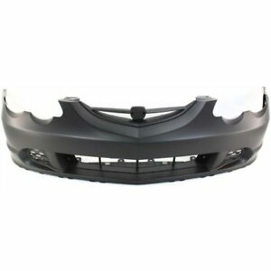 Bumper Cover For 2002 2004 Acura Rsx Front Paint To Match With Emblem Provision