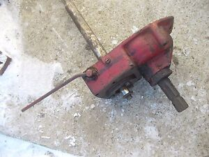 Farmall C Tractor Ih Pto Power Take Off Assembly W Input Drive Shaft