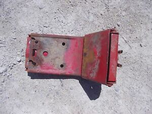 Farmall 300 350 400 Mta Ih Tractor Easy Rider Seat Pan Flip Over Latch Mount