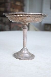 Vintage Hamilton Sterling Silver Weighted Candy Dish
