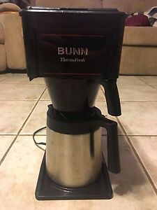 Bunn Thermo Fresh Coffee Maker Model Bt10 b Tf