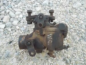 Allis Chalmers Styled Wc Wd Tractor Engine Motor Zenith Carburetor Assembly