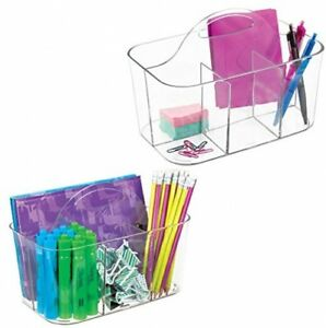 Mdesign Office Supplies Desk Organizer Tote For Scissors Pens Pencils Pack
