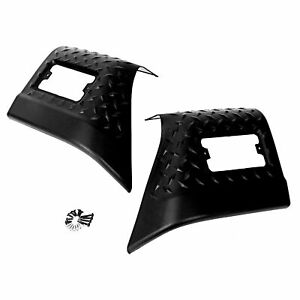 Fender Bug Chip Guards Front Body Armor For 97 06 Jeep Tj Wrangler For 11650 20