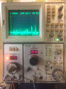 Tektronix 7l13 1khz 1 8ghz Spectrum Analyzer Oscilloscope 7313 Not Included