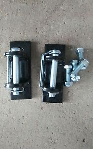 Tow Bar Brackets With Bolts Safety Pins 5000 Lbs Used