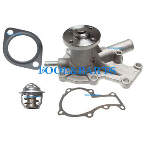 New Water Pump With Thermostat Gasket For Kubota Bx25 Bx25dlb Bx25dlb 1