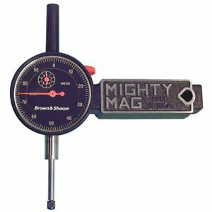 Tesa Brown Sharpe 0 1 Bf Agd Indicator W mighty Mag Set