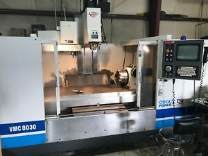 2001 Fadal 8030ht 4 Axis Vmc 10k Rpm Spindle Video Available