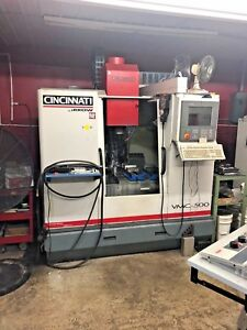 Cincinnati Arrow Cnc Vertical Machining Center 500 Year 1999
