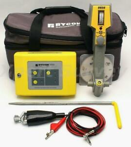 Rycom 8856 Locator 8859 Transmitter Cable Pipe Fault Locator