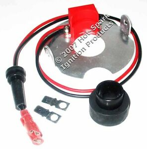 Electronic Ignition Conversion Kit Non vac 4 cyl Autolite Distributor 3aut4u2