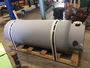 240 Gallon Vertical Air Receiver Tank