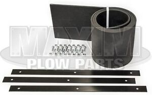 Western Snow Plow Deflector Kit 6 5 8 Straight Blade Replaces 62123