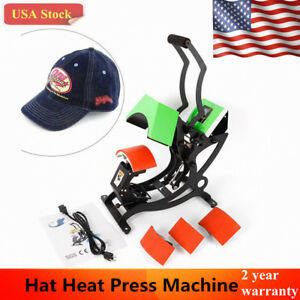 Professional 4in1 Hat Cap Heat Press Machine Sublimation Transfer Machine 500w