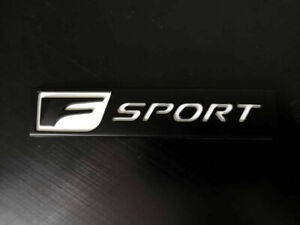 New F Sport Matte Black F Sport Fsport Abs Badge Trunk Marker 3d Emblem