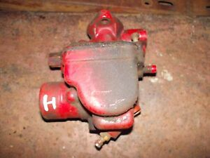 Farmall H Hv Early Sh Tractor Ih Ihc Orginal Working Carburetor Assembly