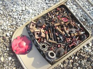 Farmall Ih H Tractor Ih Box Of Misc Bolts Nuts Parts Pieces Springs