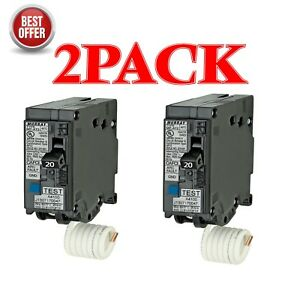 Siemens Murray Mp120afc 20 amp 1pole Afci Arc Fault Circuit Breaker 2 Pack