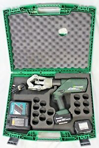 Greenlee Gator Ek12idl Battery powered 12 Ton Dieless Crimping Tool