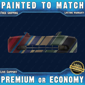 New Painted To Match Front Bumper Exact Fit For 2001 2003 Honda Civic 01 03