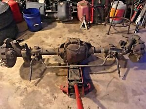 1999 2002 Ford Expedition 9 75 Inch Rear End Rear Axle Assembly 3 55 Ratio H9