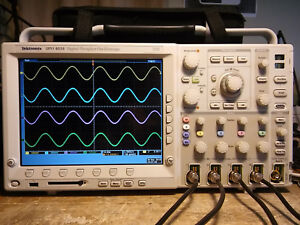 Tektronix Dpo4034 350 Mhz 2 5gs s 4 Channel Oscilloscope Dso New Power Supply